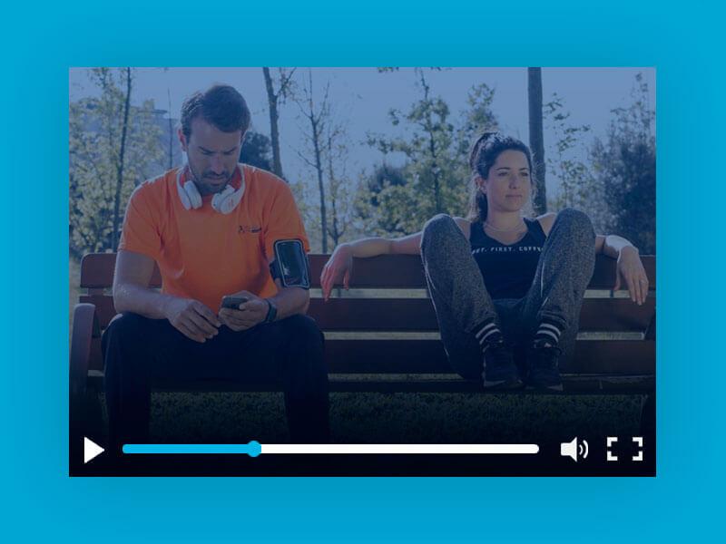Cortometraje social Screen Off