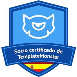 Acreditación certificada de TemplateMonster