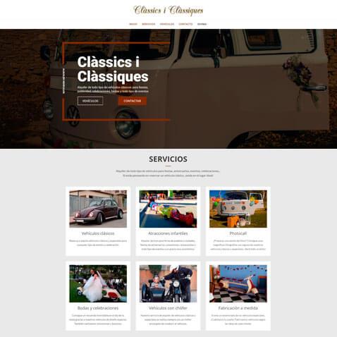 Desarrollo web clásicos y clásicas