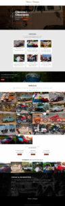 Diseño web Clásicos y clásicas