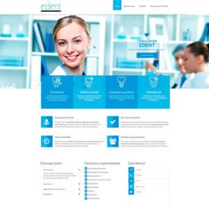 Desarrollo de páginas webs para dentistas