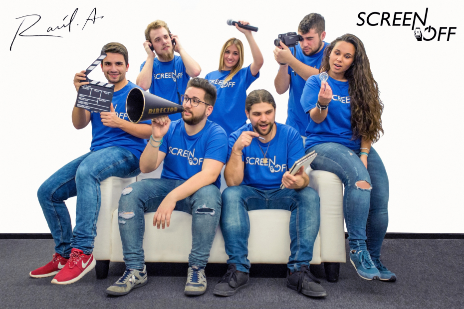 Póster equipo técnico Screen Off
