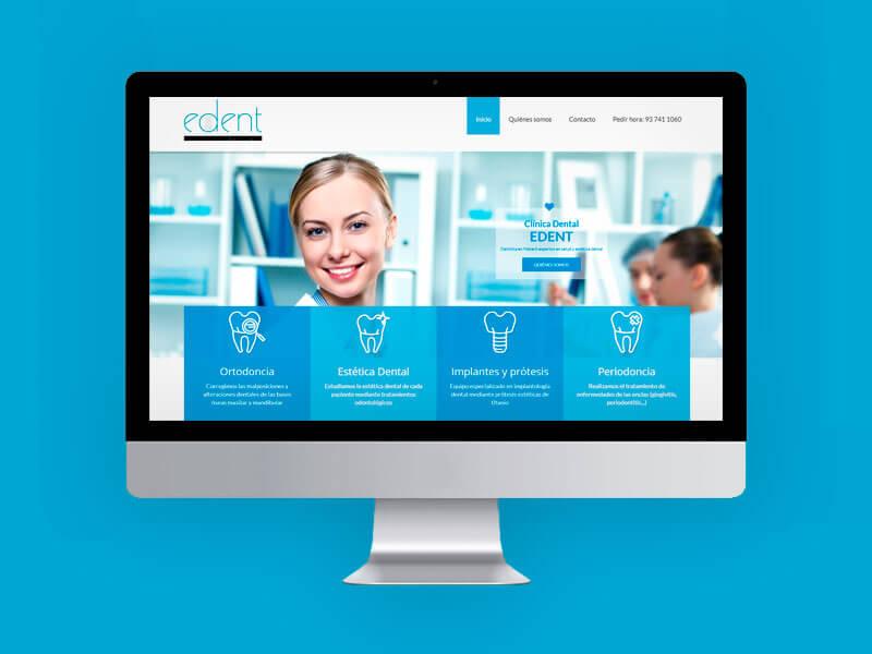 Diseño web dentista mataró