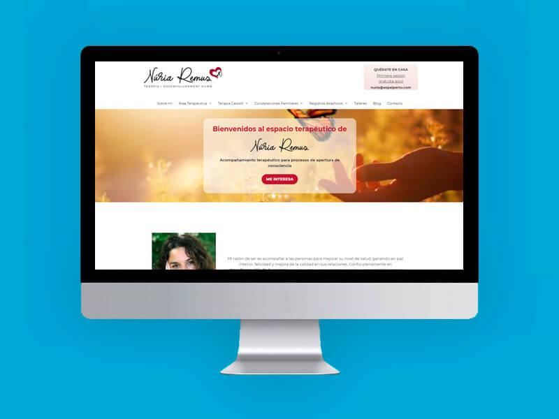 Diseño web Terapias Granollers