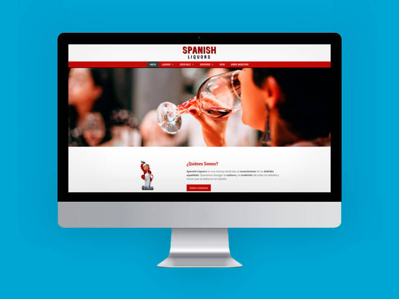 Spanish Liquors web