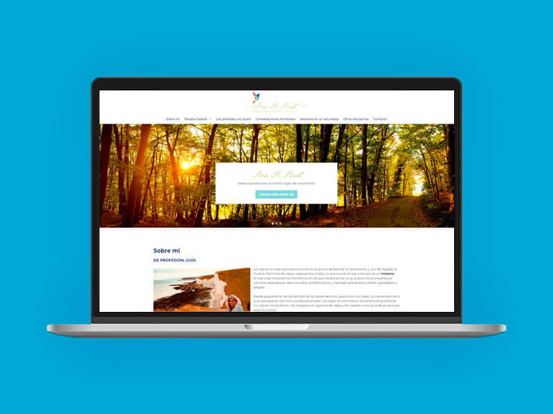 Diseño web Ana Hernández Huet