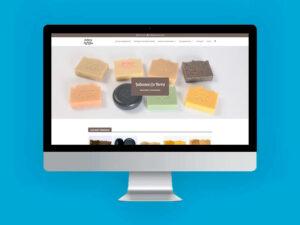 Diseño tienda online jabones